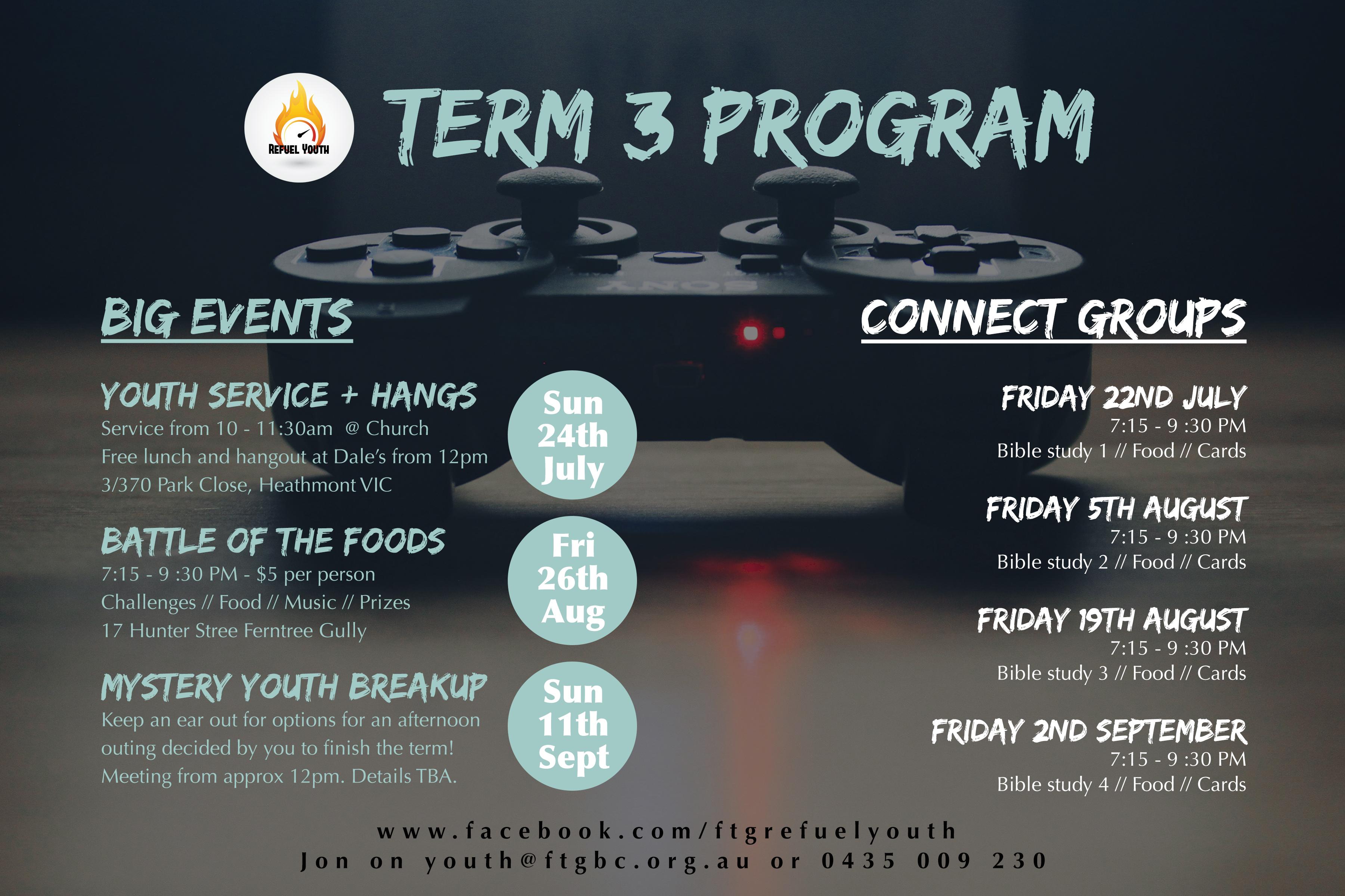Term 3 Program